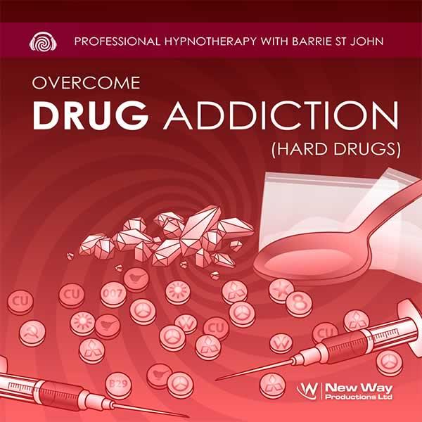 Drug Addiction (Hard Drugs) Hypnosis CD Cover