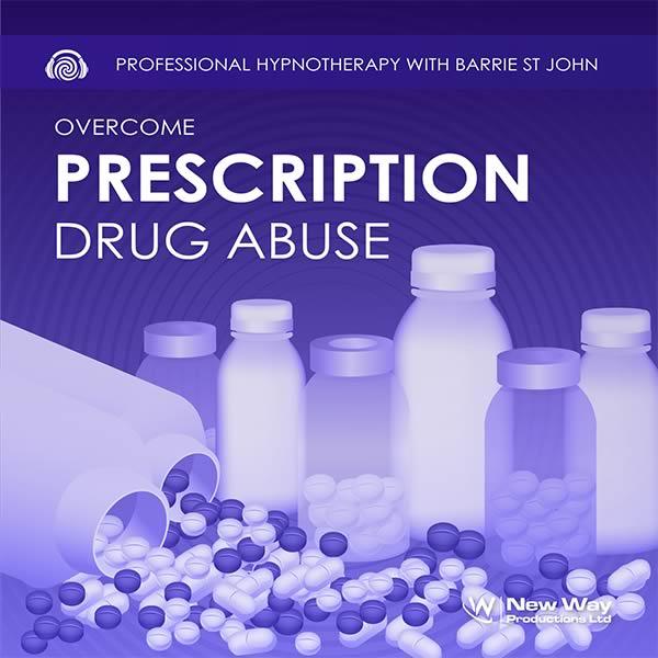 Hypnosis CD Cover for Overcome Prescription Drug Abuse